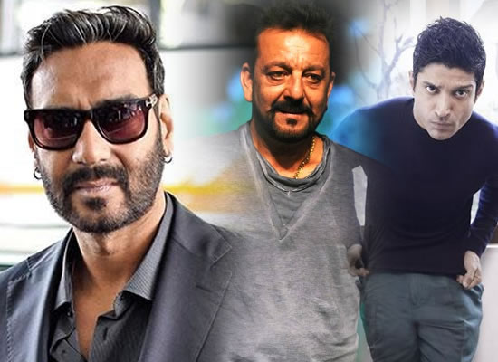 Sanjay Dutt and Farhan Akhtar come together for Ajay Devgn's home production!