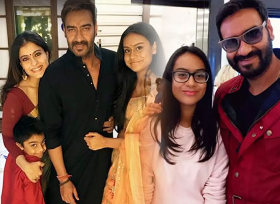 Kajol to praise hubby Ajay Devgn for parenting skills!