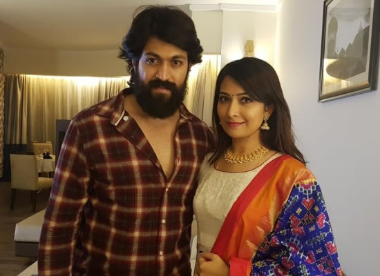 KGF star Yash and his wife Radhika Pandit to join hands for a film Girmit!
