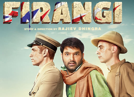 The soundtrack of Firangi is apt for the movie with tuneful numbers as Sajna Sohne Jiha, Sahiba Russ