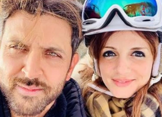 Sussanne Khan's sweetest birthday wish for BFF Hrithik Roshan!
