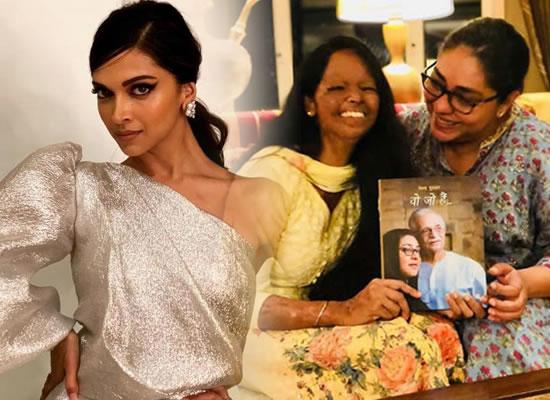 I am so happy that Deepika is playing the role in my biopic, tells Laxmi Agarwal!