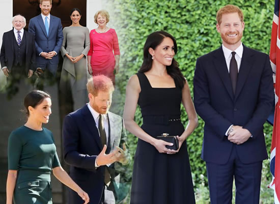 Prince Harry and Meghan Markle's happiest moments from their Ireland visit!