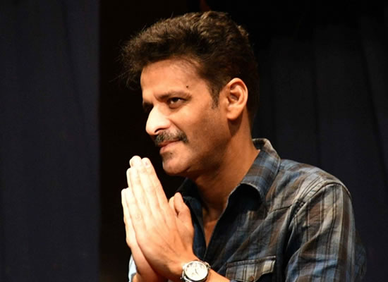 Creative minds can't be bent or broken by threats, says Manoj Bajpayee!