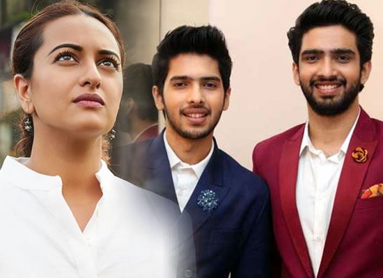 Is Sonakshi offended with Amaal Mallik and Armaan Malik?