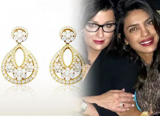 Nick's mom Denise Jonas gifts daughter in law Priyanka lovely earrings worth Rs 55 lakhs!