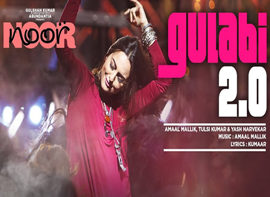 Gulabi 2.0 song of film Noor at No. 1 from 7th April to 13th April!