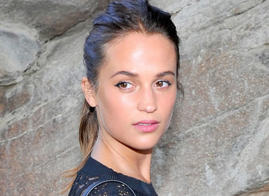 Alicia Vikander to play Lara Croft in Reboot!