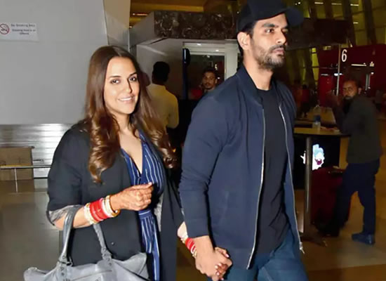 Angad Bedi opens up about Neha Dhupia's pregnancy rumours!