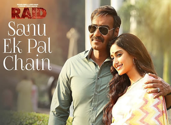 Sanu Ek Pal Chain song of film Raid at No. 3 from 13th April to 19th April!