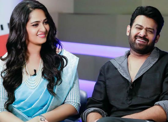 Prabhas's witty reply on dating rumours with Anushka Shetty!