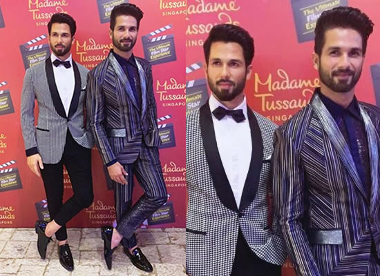 Shahid Kapoor to unveil his wax statue at Madame Tussauds!