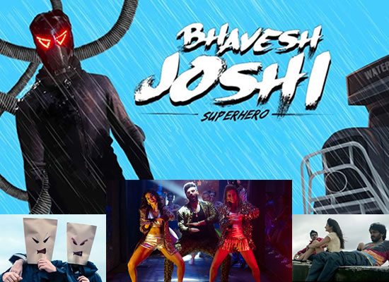 The Bhavesh Joshi Superhero's soundtrack is an average one with a few tuneful numbers!