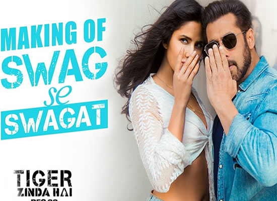 Swag Se Swagat song of film Tiger Zinda Hai at No. 2 from 12th April to 18th April!