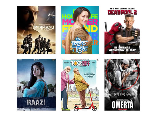 Latest Box Office for this week till 28th May, 2018