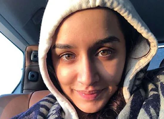 SHRADDHA'S OFF HER FEET!