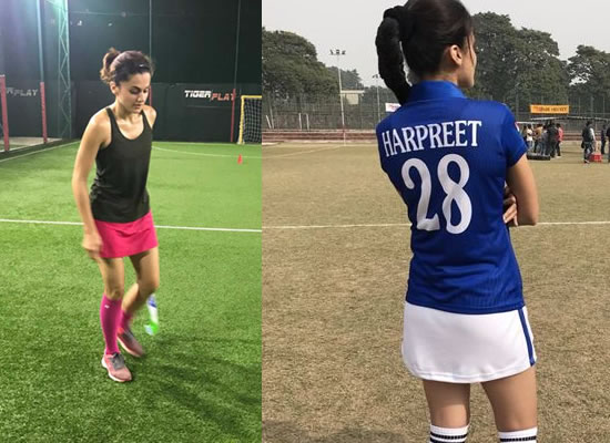 I learned hockey for Soorma but ended up using the skills in Manmarziyan, says Taapsee Pannu!