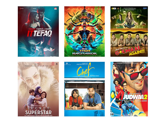 Latest Box Office for this week till 10th November, 2017!