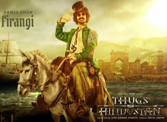 Aamir Khan's special Firangi avatar in first look of Thugs Of Hindostan!