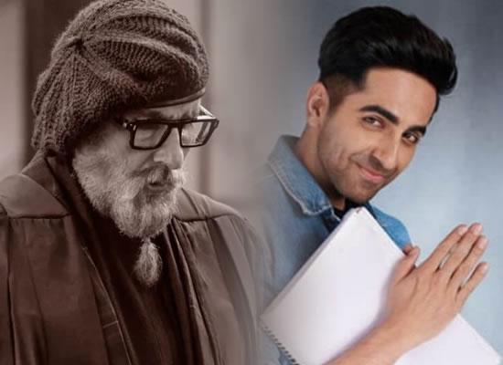 Ayushmann Khurrana talks about shooting with Big B in their next Gulabo Sitabo!