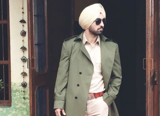 Diljit Dosanjh's cop avatar in the first look of Arjun Patiala!