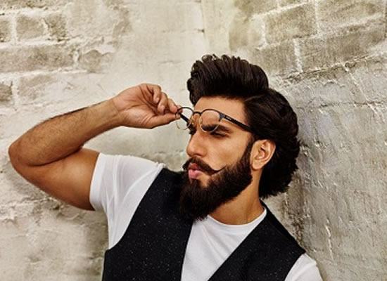 RANVEER TURNS ROCKET MAN!