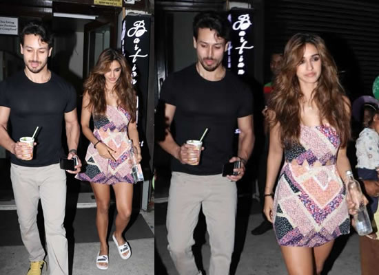 Tiger Shroff and Disha Patani to get snapped post a dinner outing!