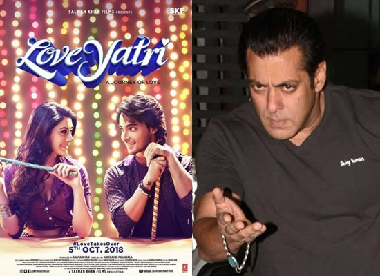 Salman discloses new title of Aayush-Warina's Loveratri!