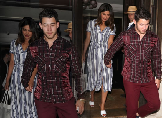 Priyanka Chopra's pre-birthday celebration with Nick Jonas in London!