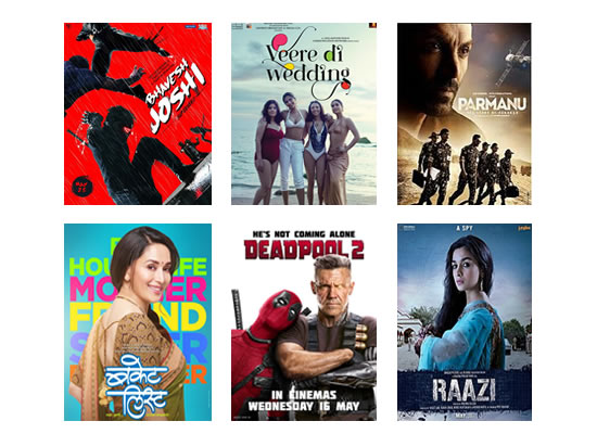 Latest Box Office for this week till 5th June, 2018
