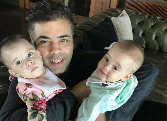 Yash and Roohi are beautiful and I have all the time in the world for them, says Karan Johar!