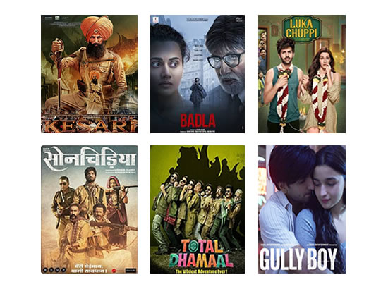 Latest Box Office for this week till 25th March, 2019!