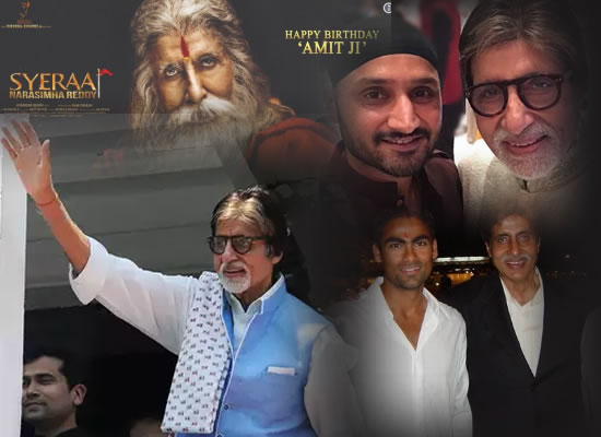 Celebs wish Amitabh Bachchan Happy Birthday!