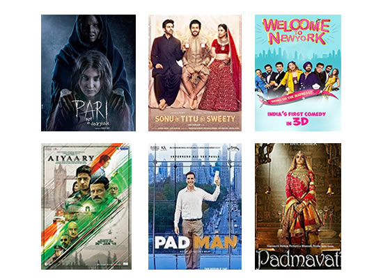 Latest Box Office for this week till 5th March, 2018!