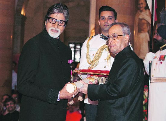 BIG B HONOURED