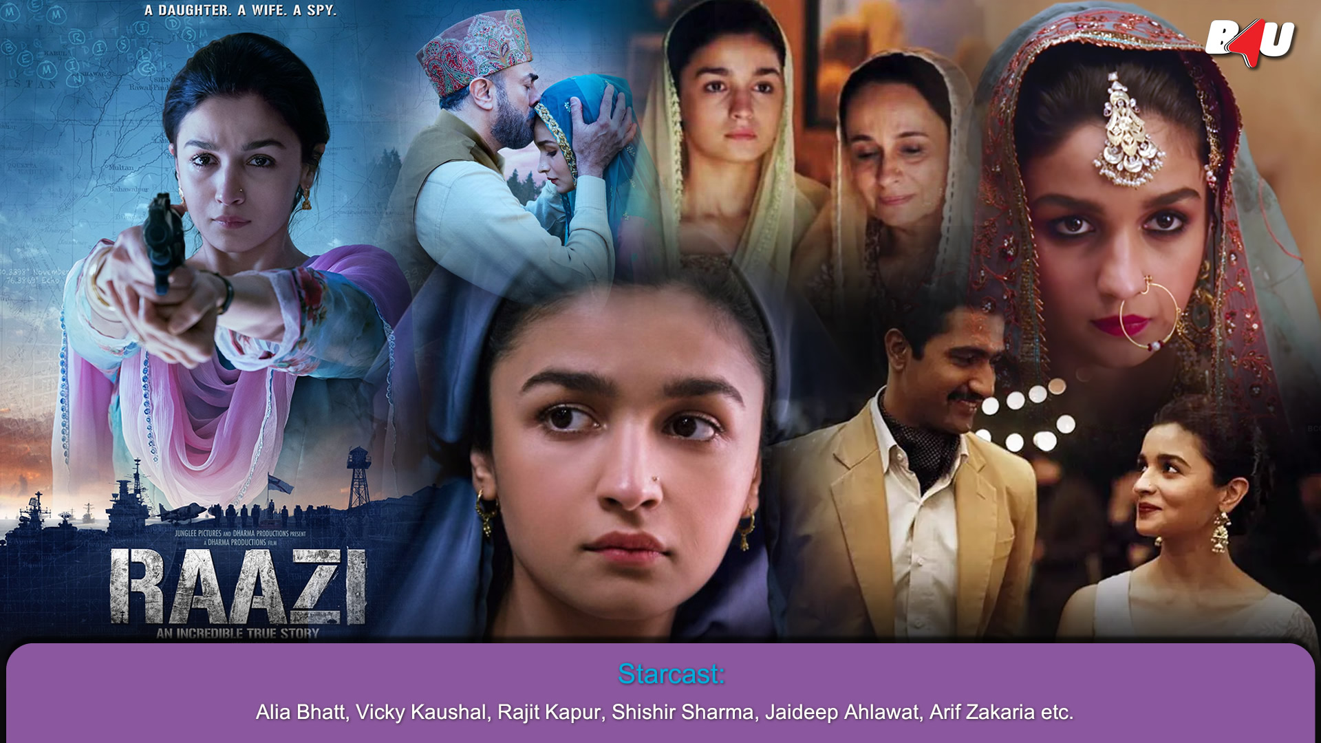 Raazi Wallpaper
