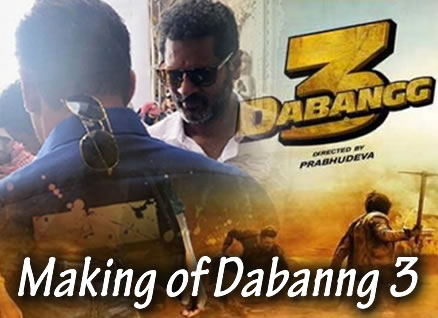 MAKING OF DABANNG 3