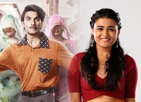 Shalini Pandey's admiration for co-star Ranveer Singh!