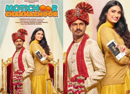 Nawazuddin and Athiya starrer Motichoor Chaknachoor's new poster!