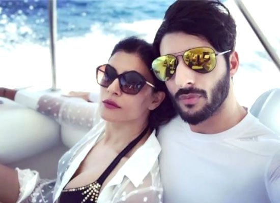 Sushmita Sen recalls her first meeting with Rohman Shawl!