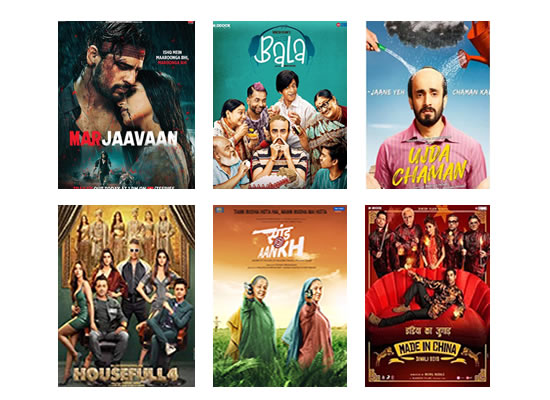 Latest Box Office for this week till 25th November, 2019!
