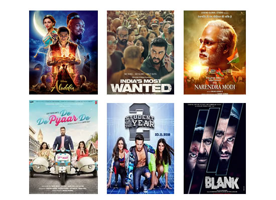 Latest Box Office for this week till 4th June, 2019!