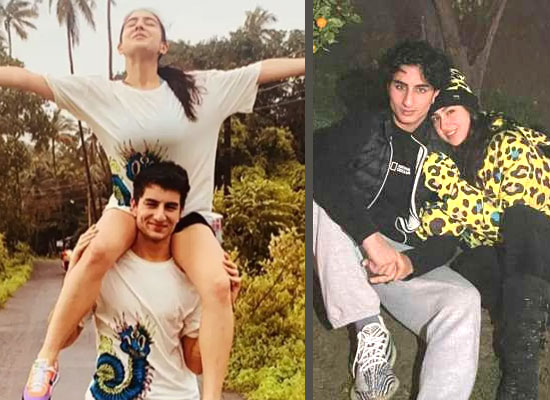 Sara Ali Khan reveals about her bonding with brother Ibrahim!