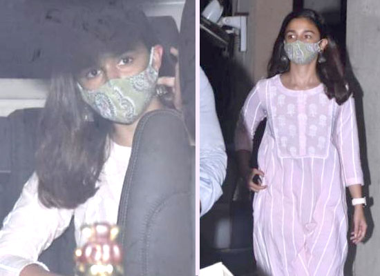 Alia Bhatt's no make-up look amid pandemic!