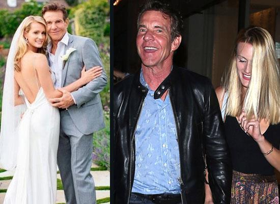 Dennis Quaid and Laura Savoie's secret marriage in Santa Barbara!