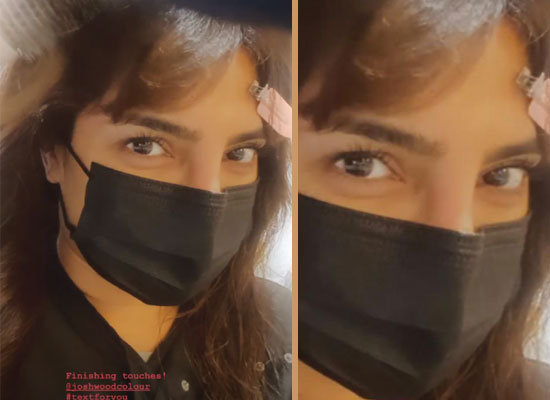 Priyanka Chopra dyes her hair brown for 'Text For You'!