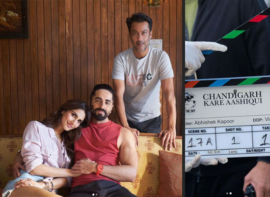 Ayushmann and Vaani starrer 'Chandigarh Kare Aashiqui' goes on floors!