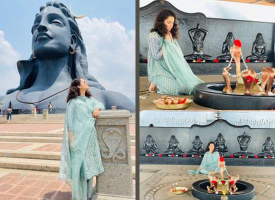 Kangana Ranaut to share pics from her recent trip to Sadhguru's ashram!