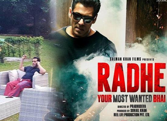 Salman Khan converts his farmhouse into an editing studio for Radhe!