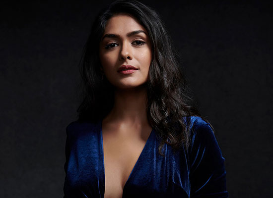 I want to survive longer in the film industry with my talent, says Mrunal Thakur!